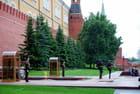 relève de la garde au Kremlin