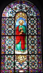 Rénovation de huit vitraux de l'église Saint-Wandrille, au Pecq