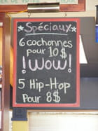 Repas Quebecois