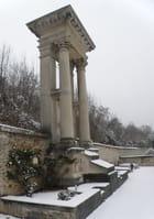 Repos sous la neige