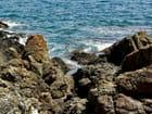 Rochers, bord de la méditérranée