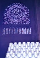 Rosace et cierges