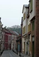 Rue colorée d'Amiens