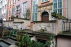 rue Mariacka avec ses gargouilles