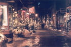Rue petit champlain (nuit)