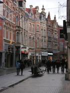 Rue piétonne..