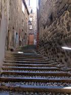 Ruelle en escalier