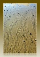 Ruissellement sur le sable