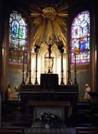 Eglise Saint-Wandrille, au Pecq