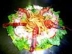 salade repas: la caraibe