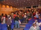 Salle comble au centre des congrés d'Aurillac