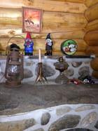Samedi après-midi au camp en bois ronds