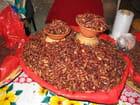 Sauterelles grillées
