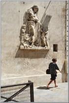 Sculpture dans la rue