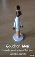 sculpture sur véritable cigarette