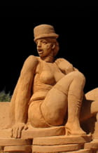 Sculptures de sable