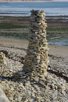 Sculture empilage de pierres