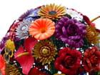 Sculptures de fleurs, couleurs de la ville...