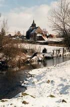 Selles sous la neige