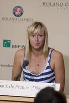 Sharapova, Roland GArros 2008