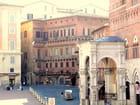 Sienne en Italie.