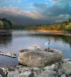 Soirée a la rivière