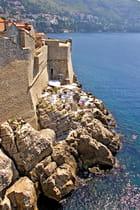 Solarium sur l'adriatique