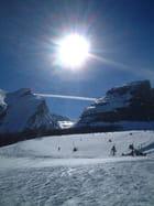 Soleil au ski