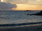 Soleil couchant à Kerlouan
