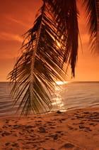 Soleil couchant en Thaïlande