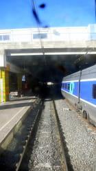 Sortie de la gare de Béziers