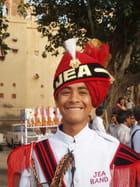 Sourire de l'inde