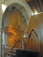St Denis, Arrière buffet de l'orgue