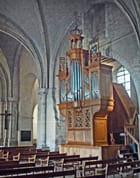 St Denis, nef, orgue