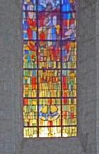 St Denis, vitrail choeur