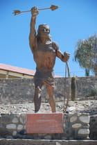 Statue de Juan Calchaqui