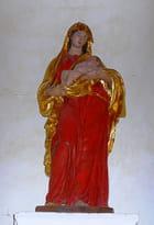Statue de la Vierge avec l'enfant Jésus
