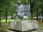 Statue de Morcinek Gustaw