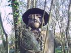 Statue de pêcheur