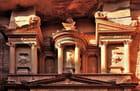 Structure supérieure du Khazneh