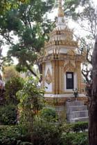 Stupa du cimetière du vat sisaket