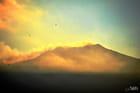 SUNSET SUR l'ETNA