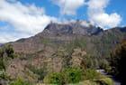 sur la route à La Réunion