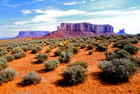 Sur les terres des Indiens Navajos