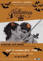 Swing Jazz Halloween Party