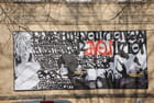 tableau dans la rue