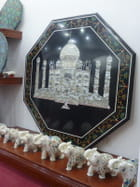 Tableau du Taj mahal