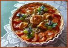 Tarte (abricots et prunes reine-claude)