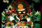 Temple de Tarkeghyang, fresque murale.