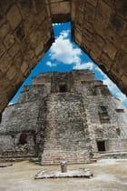 Temple maya (Mexique)